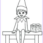 Elf On The Shelf Coloring Sheets Luxury Photos Ellf The Self Free Coloring Pages