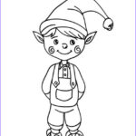 Elf On The Shelf Coloring Sheets Luxury Stock Free Printable Elf Coloring Pages For Kids