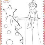 Elf On The Shelf Coloring Sheets New Stock 139 Best Christmas Coloring Pages Images On Pinterest
