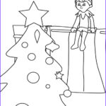 Elf On The Shelf Coloring Sheets Unique Image 102 Best Images About Christmas Coloring Pages On