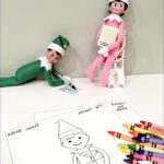 Elf On The Shelf Coloring Sheets Unique Stock Elf On The Shelf Free Printable Coloring Sheets Smudgey