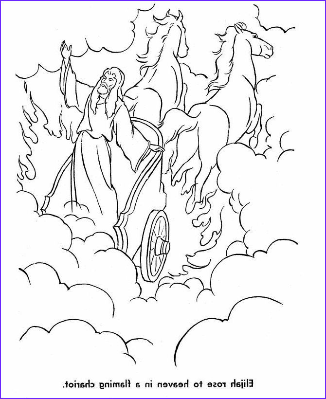 Elijah Coloring Pages Beautiful Collection Elijah Burning Altar Coloring Pages Coloring Home