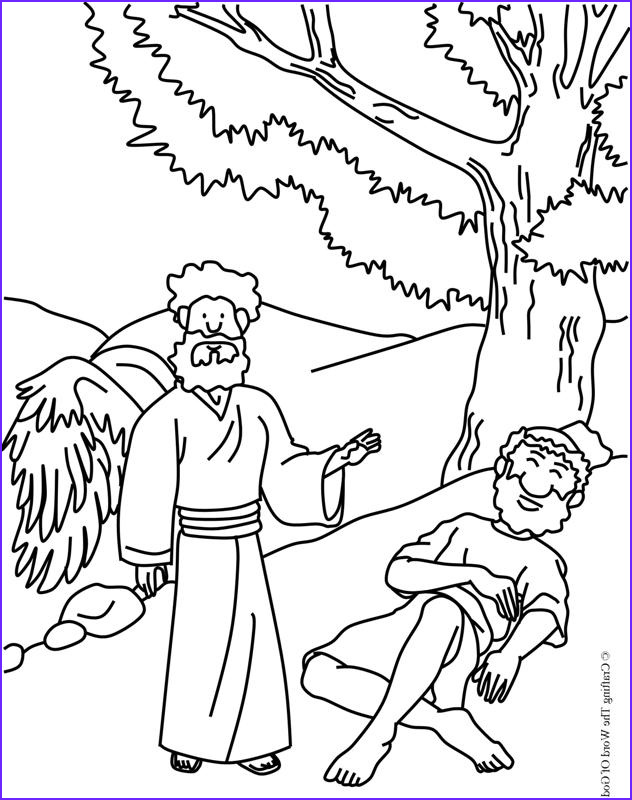 Elijah Coloring Pages Beautiful Photography Elijah Fed by God Coloring Page Crafting the Word God