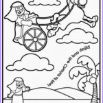 Elijah Coloring Pages Best Of Collection Creative Sunday School Crafts Elijah And The Chariot Of