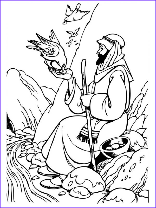 Elijah Coloring Pages Best Of Collection Elijah the Prophet Coloring Pages the Sunday School