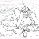Elijah Coloring Pages Elegant Photography Elijah In The Wilderness Coloring Page