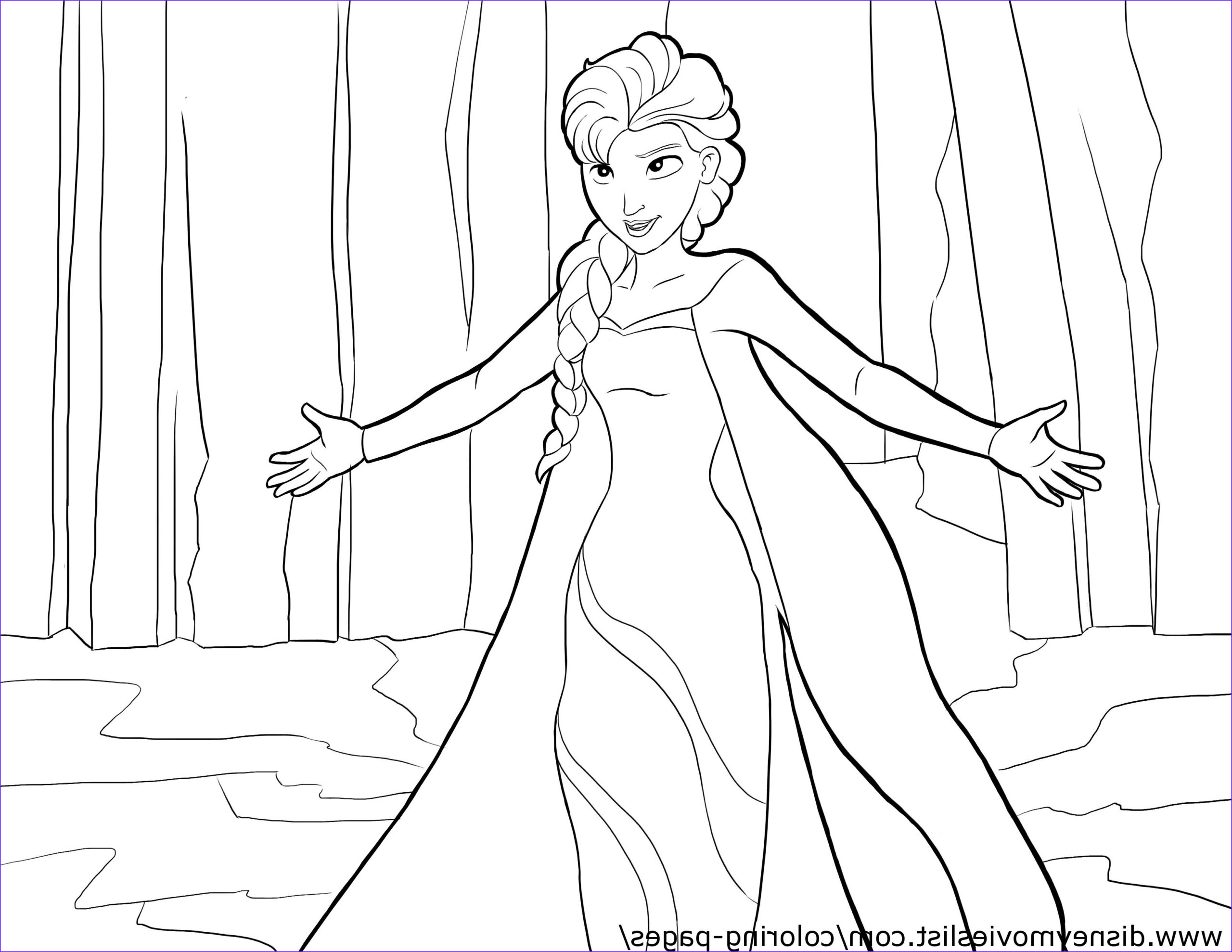 Elsa and Anna Coloring Best Of Photos Elsa Coloring Page Elsa and Anna Fanpop