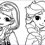 Elsa And Anna Coloring Cool Images Anna Frozen Drawing At Getdrawings