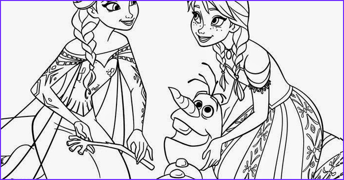 Elsa and Anna Coloring Cool Images Frozen Coloring Pages Elsa Anna Olaf Frozen Coloring Page