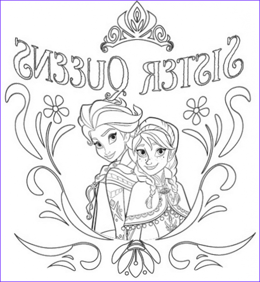 Elsa and Anna Coloring Inspirational Photos 14 Free Frozen Coloring Pages Pdf Download
