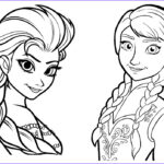 Elsa And Anna Coloring Luxury Gallery Elsa And Anna Coloring Pages To And Print For Free