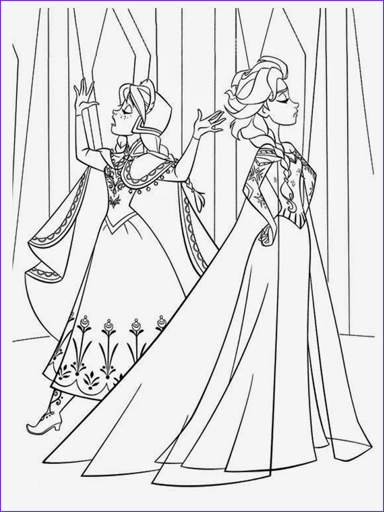 Elsa and Anna Coloring Luxury Photos Frozen Coloring Pages Elsa and Anna