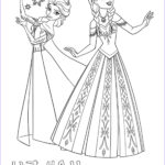 Elsa And Anna Coloring New Photos Frozen Elsa And Anna Color Your Own T Shirt