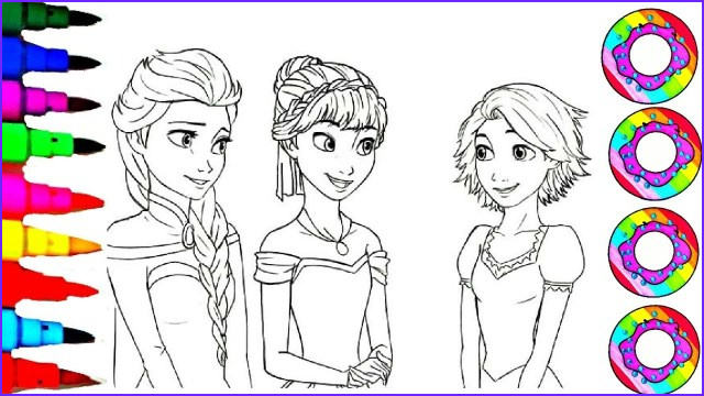 23 inspired picture of anna and elsa coloring pages
