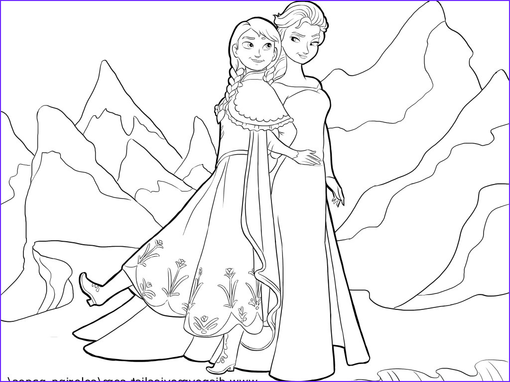 Elsa and Anna Coloring Pages Best Of Photos Coloring Pages Anna and Elsa