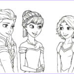 Elsa And Anna Coloring Pages Luxury Collection Super Coloring L Disney S Princess Tangled Rapunzel Frozen