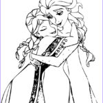 Elsa And Anna Coloring Pages New Collection Frozen Anna Coloring Pages Avaboard