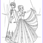Elsa And Anna Coloring Pages New Photos 101 Frozen Coloring Pages March 2018 Edition Elsa