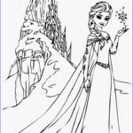 Elsa Coloring Book Inspirational Collection Free Printable Elsa Coloring Pages For Kids Best