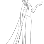 Elsa Coloring Book New Collection Elsa From The Frozen Coloring Page