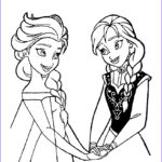 Elsa Coloring New Gallery Elsa And Anna Coloring Pages To And Print For Free