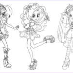 Equestria Girls Rainbow Rocks Coloring Pages Awesome Photos Rainbow Rocks Equestria Girls Coloring Pages Sketch