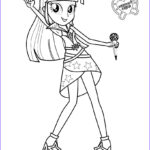 Equestria Girls Rainbow Rocks Coloring Pages Best Of Collection Twilight Sparkle Sings Coloring Pages Hellokids