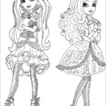 Ever After High Coloring Pages Beautiful Images Free Printable Ever After High Coloring Pages June 2013