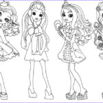 Ever After High Coloring Pages Unique Stock Free Printable Ever After High Coloring Pages Getting