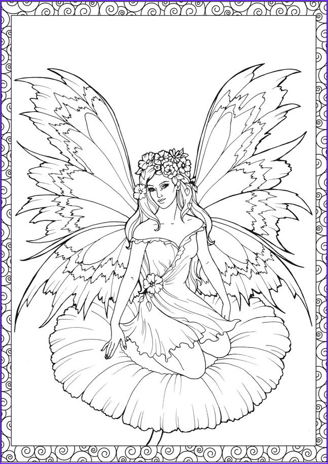 Fairy Coloring Books Best Of Collection 93 Best Images About Outlines Fairies On Pinterest