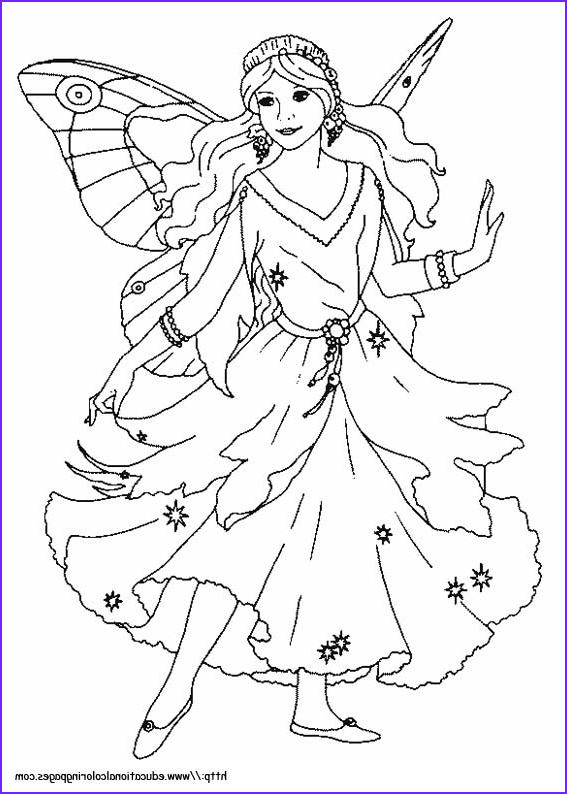 Fairy Coloring Books Best Of Gallery Fairies Coloring Pages Free for Kids