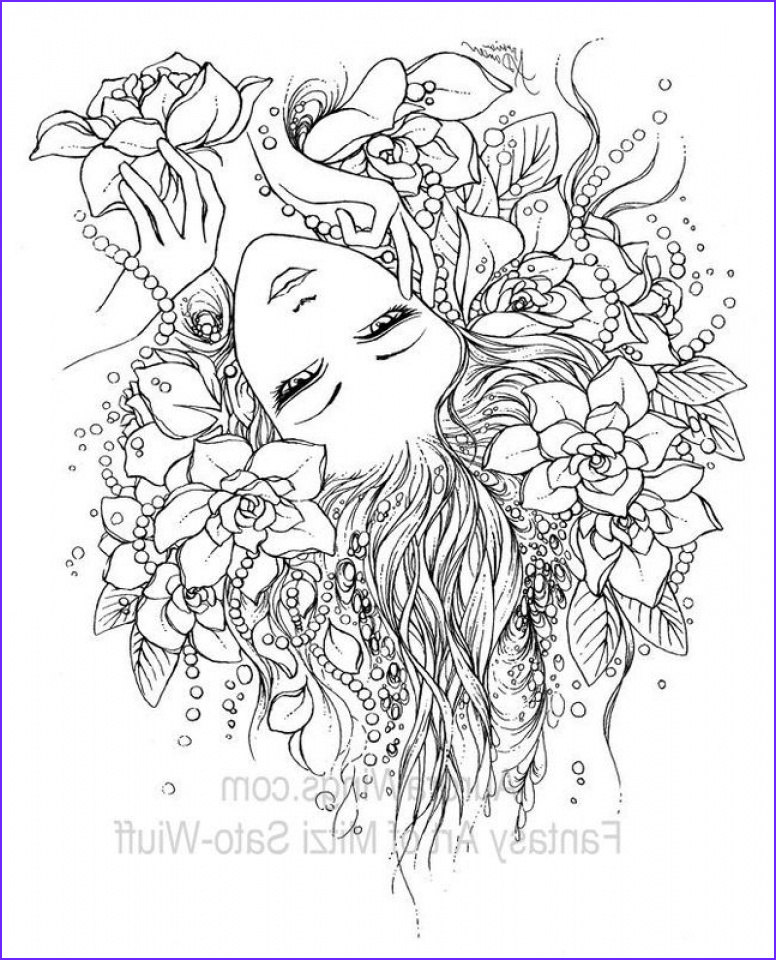 Fairy Coloring Books New Photos Get This Line Fairy Coloring Pages