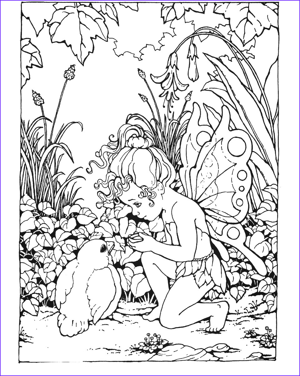 Fairy Coloring Books Unique Image Free Printable Fairy Coloring Pages for Kids