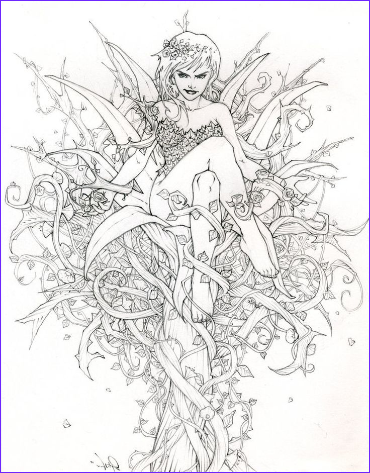 Fairy Coloring Pages for Adults Luxury Photography Fairy Adult Coloring Page Cool Pics