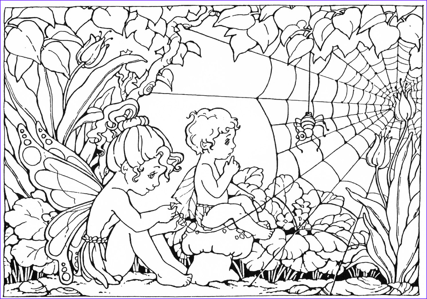 fairycoloringpages