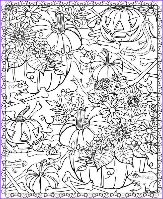 Fall Coloring Pages Adults Awesome Photos Awesome Coloring Pages