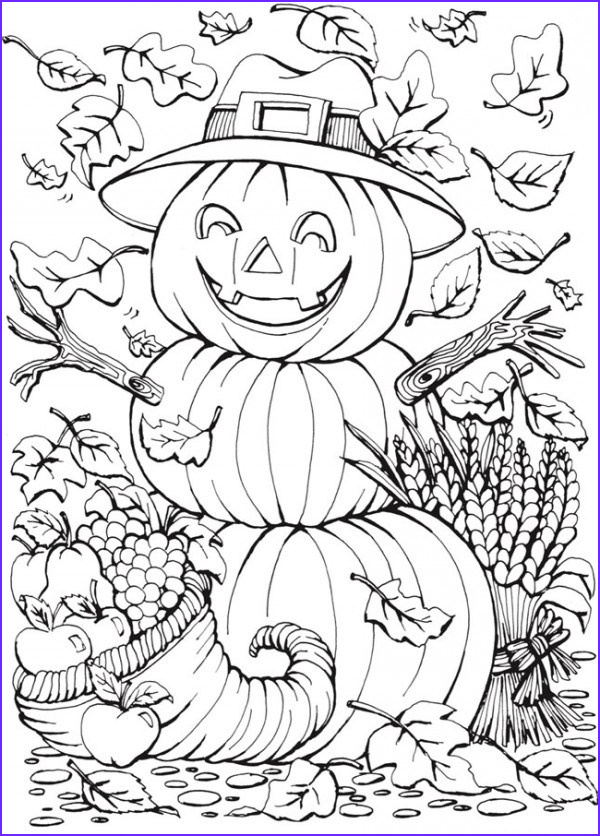 Fall Coloring Pages Adults Cool Photography 6 Fall Coloring Pages – Stamping