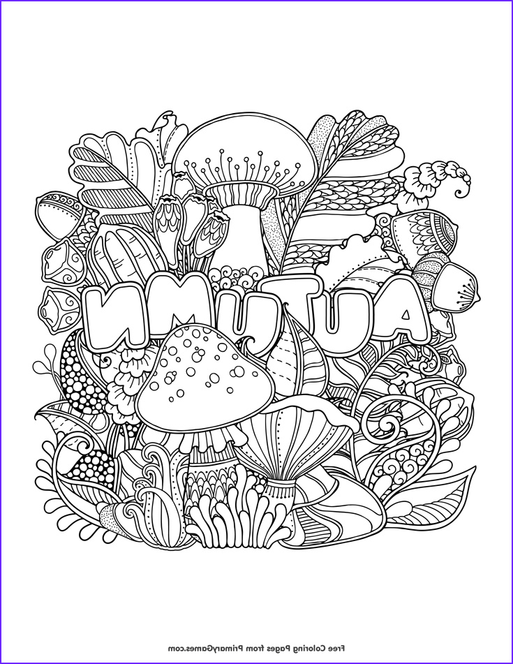 Fall Coloring Pages Adults Unique Image Fall Coloring Pages Ebook Autumn Fall