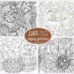 Fall Coloring Pages For Adults Beautiful Collection Free Fall Adult Coloring Pages U Create