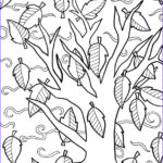 Fall Coloring Pages For Adults Elegant Photos Fall Coloring Pages Doodle Art Alley