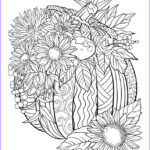 Fall Coloring Pages For Adults Unique Photos Pumpkin Coloring Page