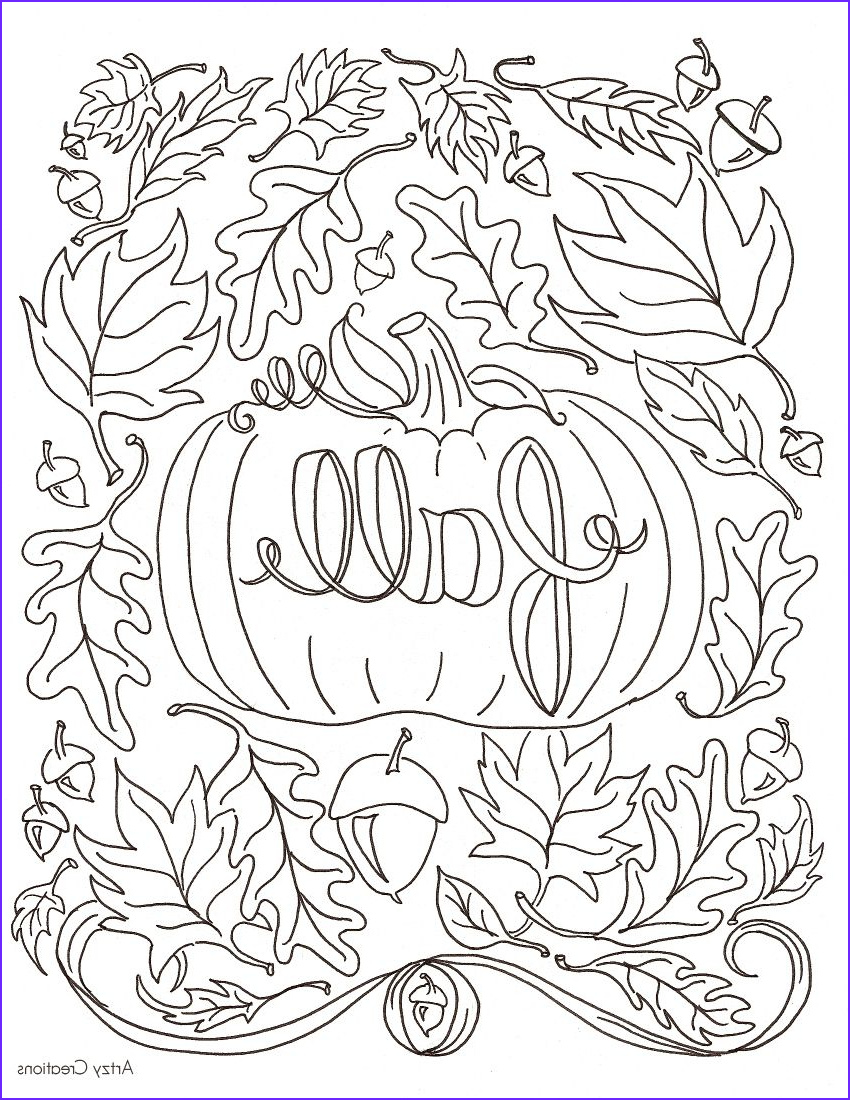 Fall Coloring Pages to Print Unique Image Hi Everyone today I M Sharing with You My First Free