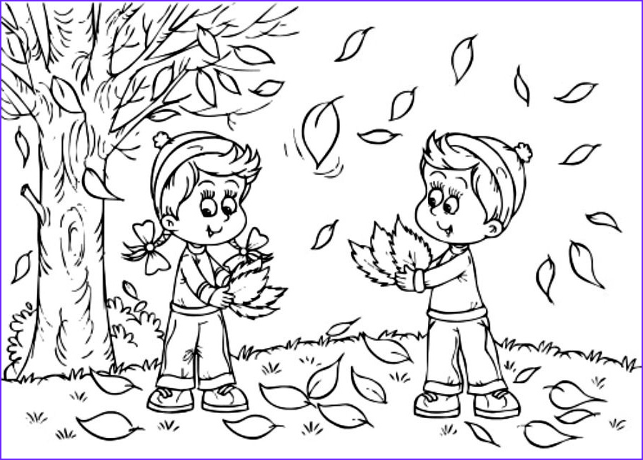 Fall Coloring Sheets Unique Images Autumn Coloring Pages 01 Ideas for the House