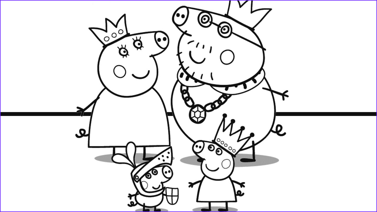 Family Coloring Sheet Awesome Photos Peppa Pig and Her Family Coloring Book Coloring Pages