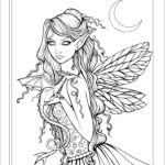 Fantasy Adult Coloring Pages Awesome Collection Free Fairy And Dragon Coloring Page By Molly Harrison