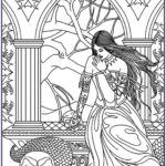 Fantasy Adult Coloring Pages Beautiful Collection Fantasy Adult Coloring Pages Coloring Home