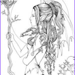 Fantasy Adult Coloring Pages Beautiful Photos Mystical A Fantasy Coloring Book