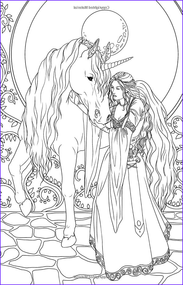 Fantasy Adult Coloring Pages Cool Gallery Amazon Magic Minis Pocket Sized Fairy Fantasy Art