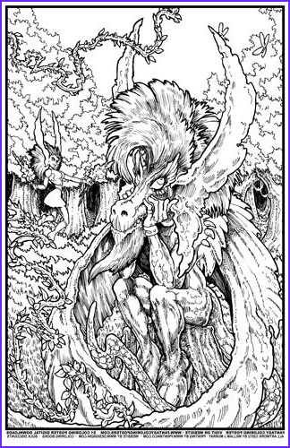 Fantasy Adult Coloring Pages Elegant Collection Plex Adult Coloring Fantasy Google Search