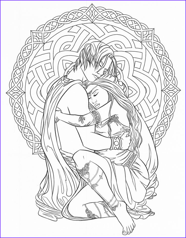 coloring pages to print fantasy
